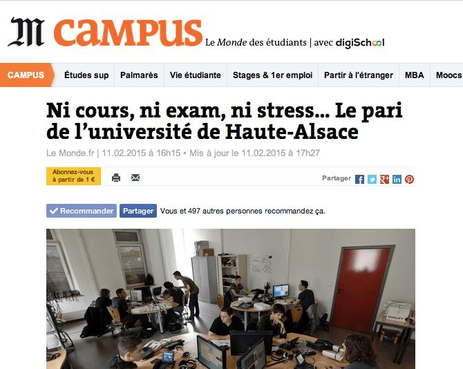 UHA 4.0 Le pari de l'Université de Haute Alsace
