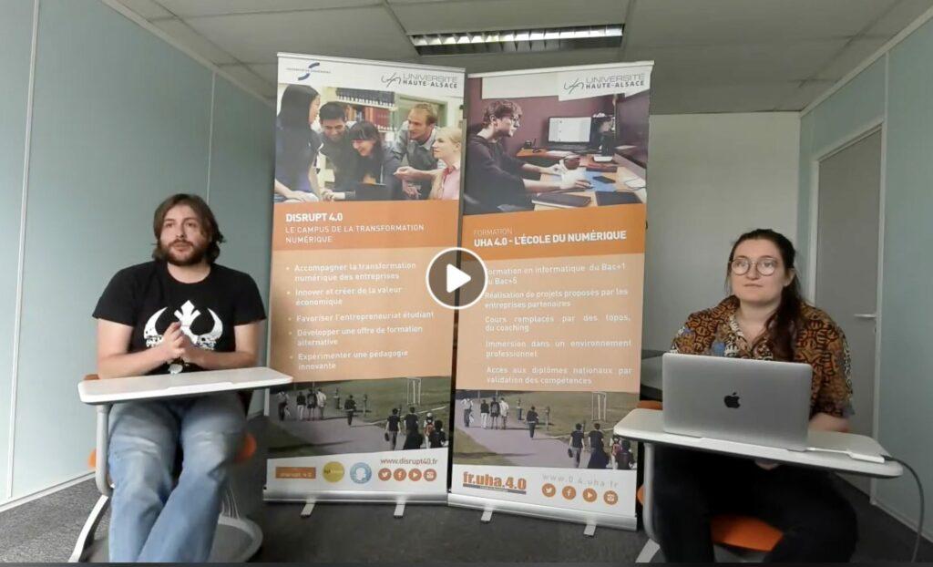 UHA 4.0 - Formation informatique numérique de l'Université de Haute Alsace à Mulhouse